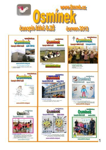 Červen 2013 - 8.ZŠ