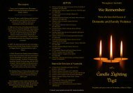Candle lighting brochure.pdf - Community Door