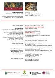 Programma Sala - 23 giugno - GAZZOTTI_corr3 - Coro Luigi Gazzotti