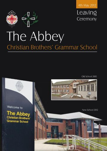 Leaving - The Abbey Christian Brothers' Grammar School