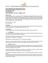 Papers SP4 - Queen Margaret University Students