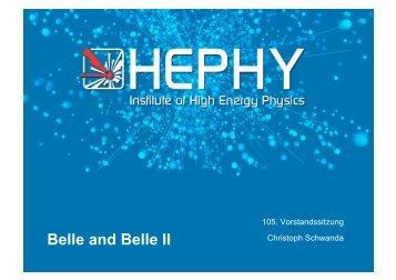 Belle and Belle II - HEPHY