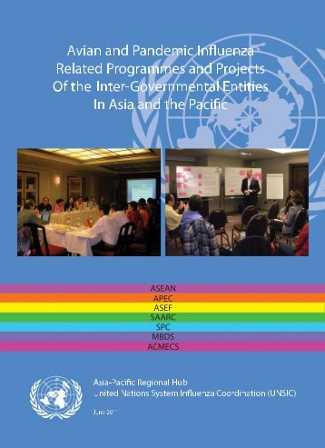 Avian and Pandemic Influenza-related Programmes and Projects of ...