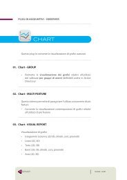 PLUG-IN AGGIUNTIVI - OBSERVER 01. Chart ... - Achelon.eu
