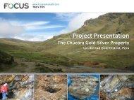 Project Presentation - Focus Ventures Ltd.