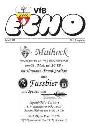 Mai 2011 181. Ausgabe - VfB Reichenbach/Fils