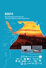 Best Management Practices - Maritime Security Centre Horn of Africa