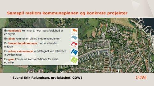 Samspil mellem kommuneplanen og konkrete projekter