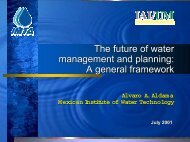 The future of water management and planning