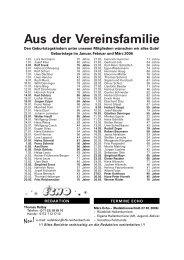 Aus der Vereinsfamilie - VfB Reichenbach/Fils