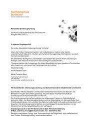 Newsletter Existenzgründung Mai 2010 - FH Durchstarter