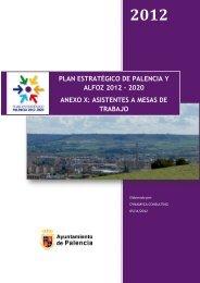 asistentes a mesas de trabajo - Ayuntamiento de Palencia
