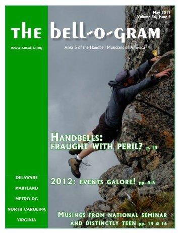 Handbells: fraugHt witH peril - Area III