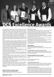 DCS Excellence Awards - Queensland Corrective Services