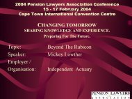 Topic: Beyond The Rubicon Speaker: Mickey Lowther Employer ...