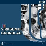 VIRKSOMH EDS GRUNDL AG - Aarhus Universitetshospital