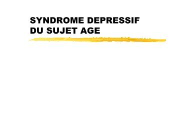 trepied depressif - APHJPA