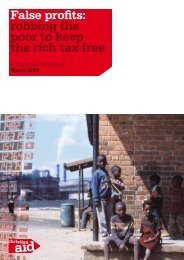 False profits: robbing the poor to keep the rich tax-free - Christian Aid