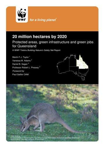 20 million hectares by 2020 - wwf - Australia