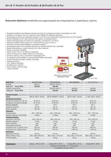 OPTI B 17 Pro/OPTI B 23 Pro/OPTI B 26 Pro/OPTI B 33 Pro ... - DMK
