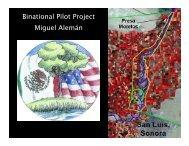 Binational Pilot Project - International Boundary and Water ...