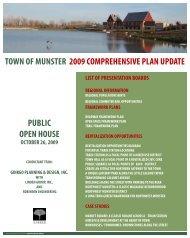 Comp Plan Draft Information - Town of Munster