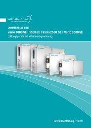 Vario 2500 SE | Vario 3500 SE - Heinemann GmbH