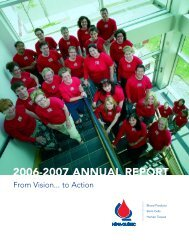 Complete Annual Report - Héma-Québec