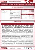 europe online payment methods report 2013 - first half ... - yStats.com - Page 2