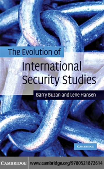 the-evolution-of-international-security-studies