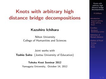 Knots with arbitrary high distance bridge decompositions