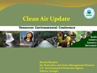 EPA Air Quality Update