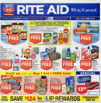 i heart rite aid: 05/08 - 05/14 ad