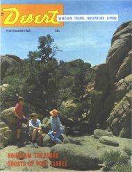 GHOSTS - Desert Magazine of the Southwest