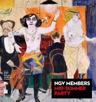 NGV MeMbers Mid-suMMer Party