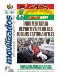 No.416 - Ministerio de Salud y Deportes de Bolivia