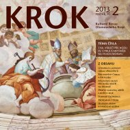 KROK - Vědecká knihovna v Olomouci