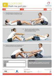 E - Floor Core Exercises - England Golf