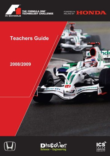 Teachers Guide - F1 in Schools