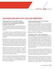 2003 dodge ram heavy duty 2500/3500 powertrain - Turbo Diesel ...