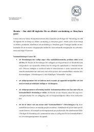 Om stöd till åtgärder för en effektiv användning av förnybara gaser