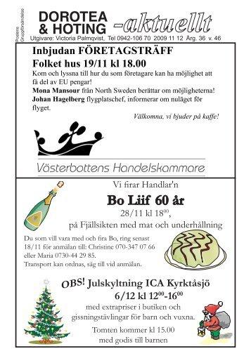 Da 2009 v46 - Dorotea-aktuellt AB
