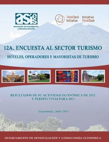 12ª. Encuesta al Sector Turismo - Asociación de Investigación y ...