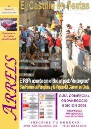GUÍA COMERCIAL ONDANEGOCIO EDICIÓN 2008 - Hemeroteca