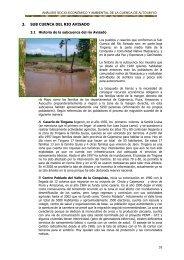3. SUB CUENCA DEL RIO AVISADO - Condesan