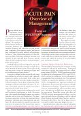 ACUTE PAIN Overview of Management - U.S. Pharmacist - Page 2
