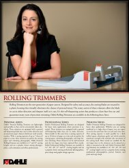 ROLLING TRIMMERS - Dahle North America