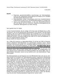 Mailbrief vom 14.02.2010 an das Wirtschaftsministerium zum ...