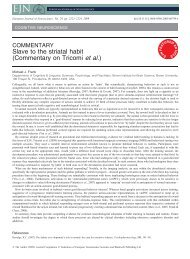 Slave to the striatal habit - Michael Frank - Brown University
