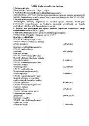 Atklātā konkursa noslēguma ziņojums 1.Valsts ... - Valsts policija